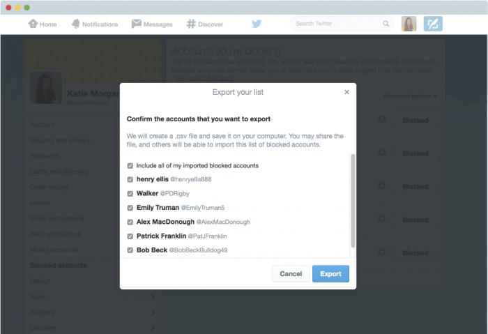 twitter-compartir-lista-usuarios-bloqueados- ciberacosadores- pasos